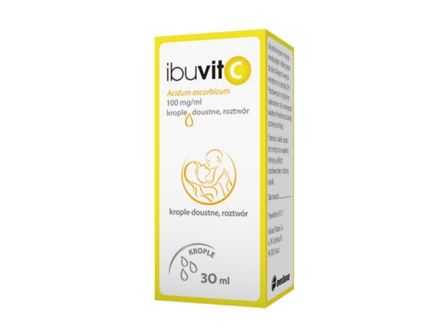 Ibuvit C (Cevikap) interakcje ulotka krople doustne, roztwór 0,1 g/ml 30 ml