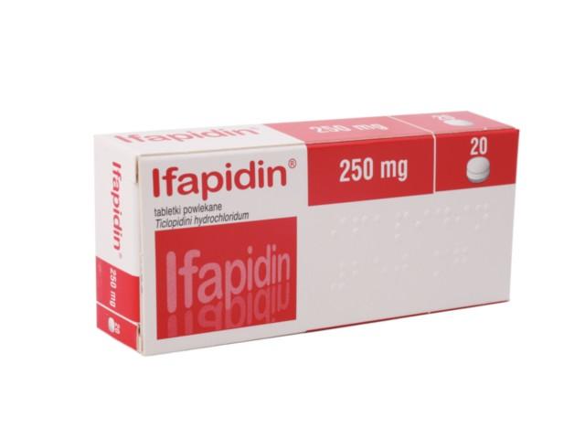 Ifapidin interakcje ulotka tabletki powlekane 0,25 g 20 tabl.