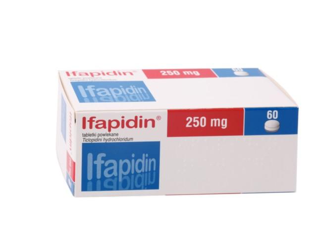 Ifapidin interakcje ulotka tabletki powlekane 0,25 g 60 tabl.