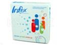 Infex interakcje ulotka tabletki musujące 0,177g Ca2++0,06g Vit.C+0,01g Zn 12 tabl.