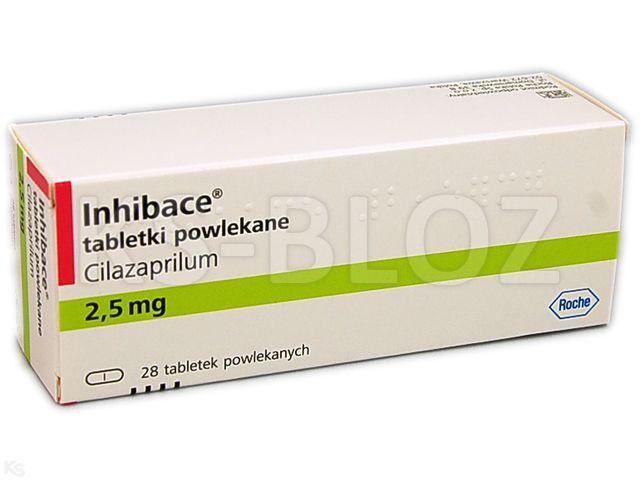Inhibace interakcje ulotka tabletki powlekane 2,5 mg 28 tabl.