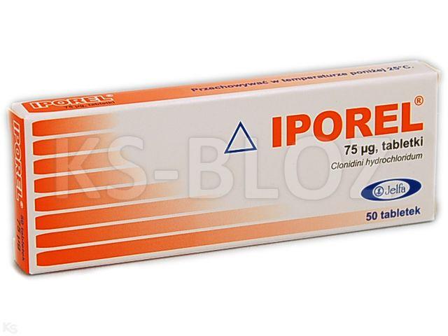 Iporel interakcje ulotka tabletki 0,075 mg 50 tabl. | 2 blist.po 25szt.