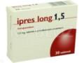 Ipres long 1,5 interakcje ulotka tabletki o przedłużonym uwalnianiu 1,5 mg 30 tabl.