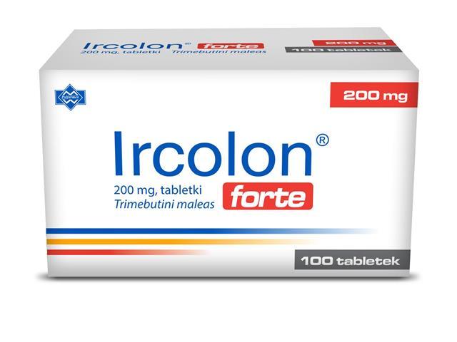 Ircolon Forte interakcje ulotka tabletki 0,2 g 100 tabl.