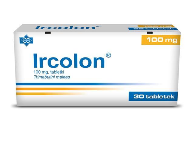 Ircolon interakcje ulotka tabletki 0,1 g 30 tabl.