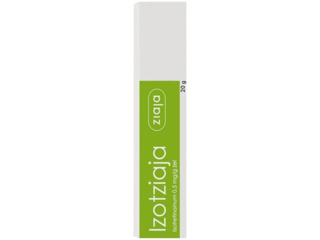 Izotziaja interakcje ulotka żel 0,5 mg/g 20 g