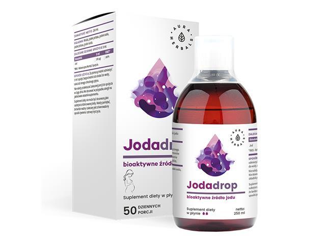 Jodadrop interakcje ulotka płyn  250 ml