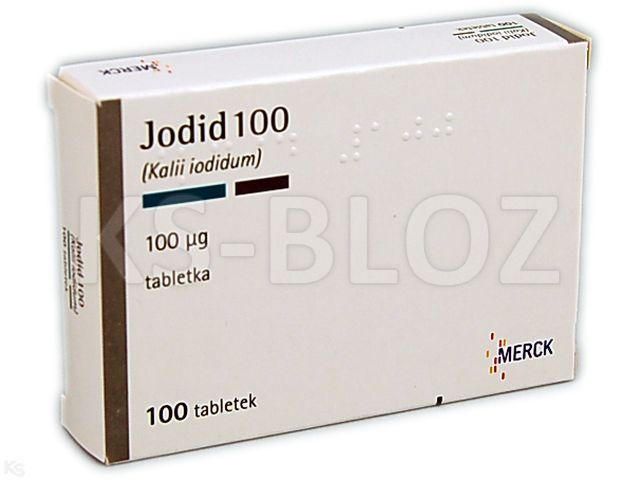 Jodid 100 interakcje ulotka tabletki 0,1 mg 100 tabl.