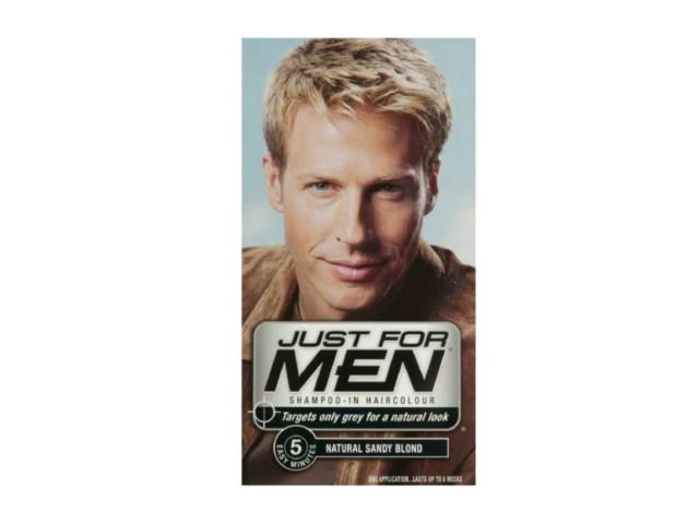 JUST FOR MEN H-10 Szamp. koloryzuj.d/mężczyzn (popielaty blond) interakcje ulotka   27.5 ml | +38,5ml
