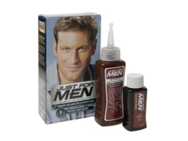 JUST FOR MEN H-25 Szamp. koloryzuj.d/mężczyzn (jasny brąz) interakcje ulotka   27.5 ml