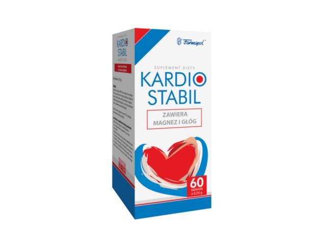 Kardiostabil interakcje ulotka tabletki  60 tabl.