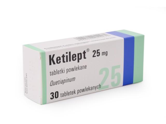 Ketilept interakcje ulotka tabletki powlekane 0,025 g 30 tabl.