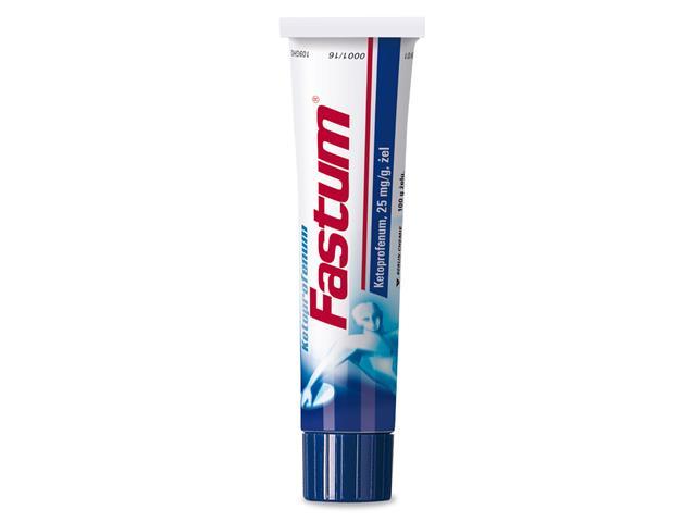 Ketoprofenum Fastum interakcje ulotka żel 0,025 g/g 100 g | tuba