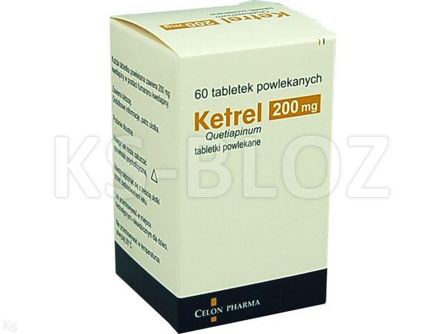Ketrel interakcje ulotka tabletki powlekane 0,2 g 60 tabl.