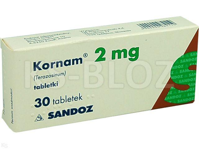 Kornam interakcje ulotka tabletki 2 mg 30 tabl.