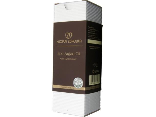 KROPLA ZDROWIA Eco Argan Oil Olej Arganowy interakcje ulotka   50 ml