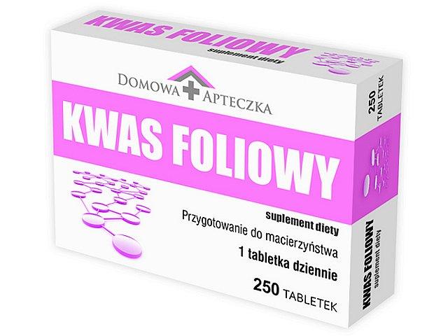 Kwas Foliowy interakcje ulotka tabletki 0,4 mg 250 tabl.