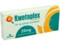 Kwetaplex interakcje ulotka tabletki powlekane 0,025 g 30 tabl.