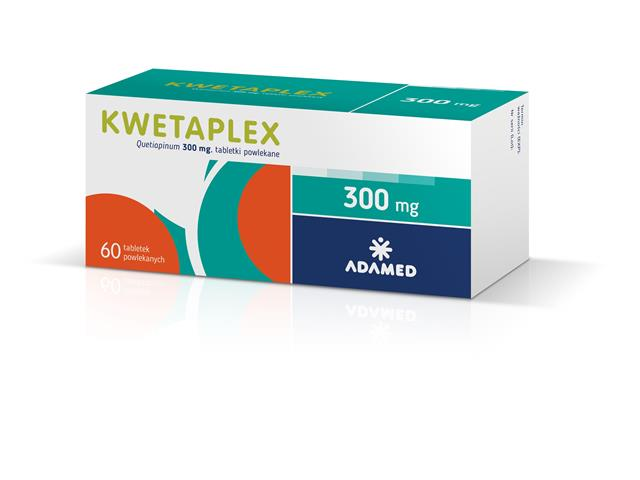 Kwetaplex interakcje ulotka tabletki powlekane 0,3 g 60 tabl.