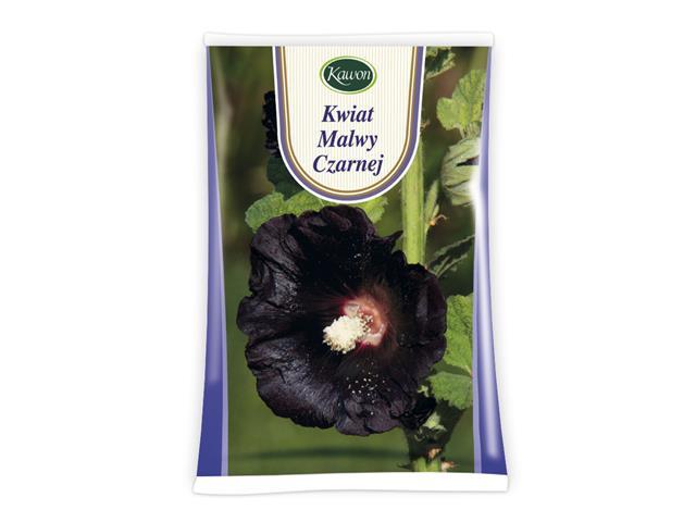 Kwiat Malwy czarnej interakcje ulotka zioła sypkie  25 g