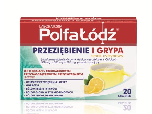 Laboratoria PolfaŁódź PRZEZIĘBIENIE I GRYPA smak cytrynowy (Ascalcin Plus o smaku cytryn.) interakcje ulotka proszek musujący 0,5g+0,3g+0,2g 20 sasz.