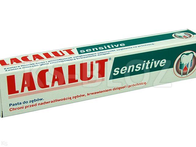 LACALUT Past.d/zęb. Sensit.d/wraż.zęb. interakcje ulotka   75 ml