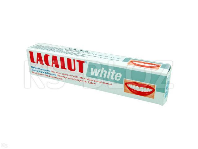 LACALUT Past.d/zęb. wybiel. interakcje ulotka   75 ml