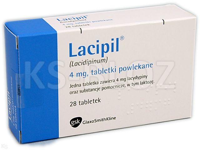 Lacipil interakcje ulotka tabletki powlekane 4 mg 28 tabl.