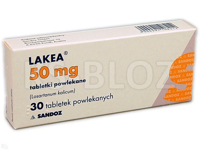Lakea interakcje ulotka tabletki powlekane 0,05 g 30 tabl. | 3 blist.po 10 szt.