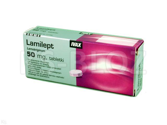 Lamilept interakcje ulotka tabletki 0,05 g 30 tabl.