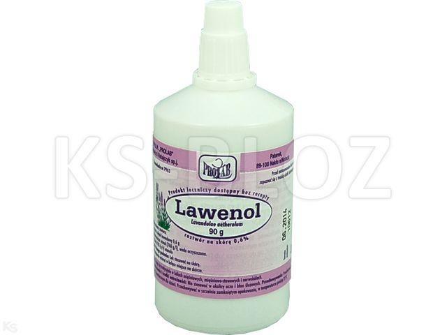 Lawenol interakcje ulotka roztwór do stosowania na skórę 0,6 % 90 g