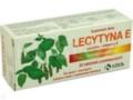 Lecytyna E interakcje ulotka tabletki powlekane  30 tabl.