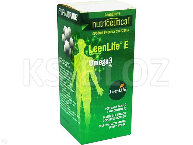 LeenLife E Koncentrat Omega 3+6&9 VITAMINFCONCEPT interakcje ulotka płyn  120 ml