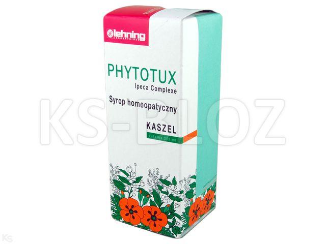 LEHNING Phytotux Ipeca Compose interakcje ulotka syrop  250 ml | butelka