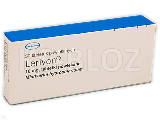 Lerivon interakcje ulotka tabletki powlekane 0,01 g 30 tabl.
