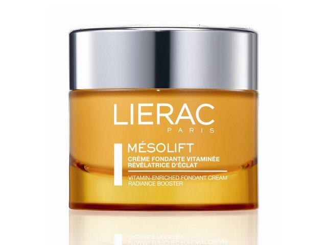 LIERAC MESOLIFT Krem przeciw zmęcz. skóry wygładza, rozświetla zapobiega starzeniu interakcje ulotka   50 ml