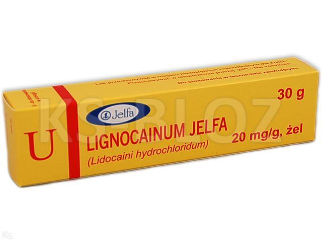 Lignocainum Jelfa interakcje ulotka żel 0,02 g/g 30 g