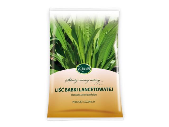 Liść babki lancetowatej interakcje ulotka zioła do zaparzania 1 g/g 50 g
