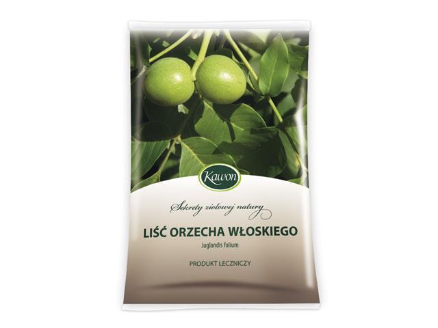 Liść Orzecha włoskiego interakcje ulotka zioła do zaparzania  50 g