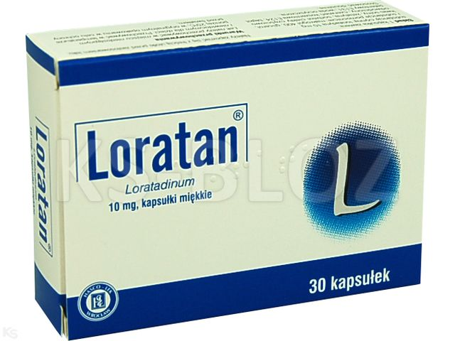 Loratan interakcje ulotka kapsułki miękkie 0,01 g 30 kaps.