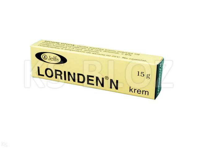 Lorinden N interakcje ulotka krem (0,2mg+5mg)/g 15 g