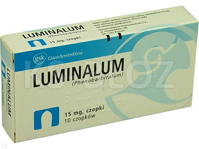 Luminalum interakcje ulotka czopki doodbytnicze 0,015 g 10 czop.
