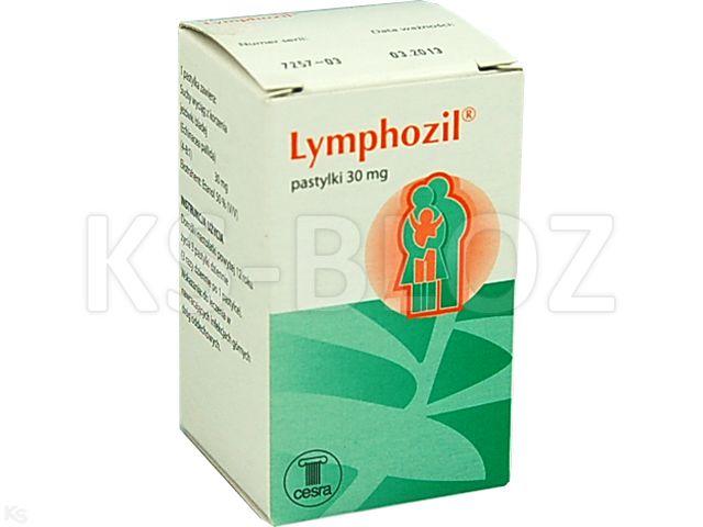 Lymphozil interakcje ulotka pastylki 0,03 g 20 pastyl.