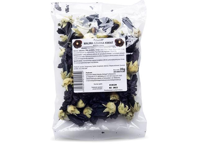 Malwa Czarna Kwiat Herbatka ziołowa interakcje ulotka   20 g