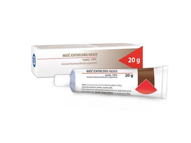 Maść z sulfobituminianem amonowym interakcje ulotka maść  20 g
