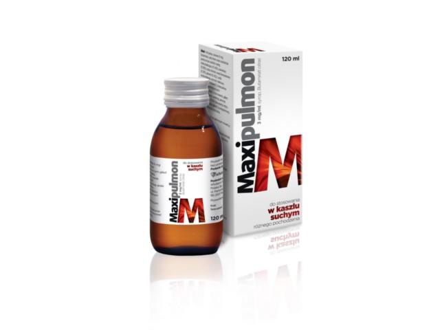 Maxipulmon interakcje ulotka syrop 3 mg/ml 120 ml