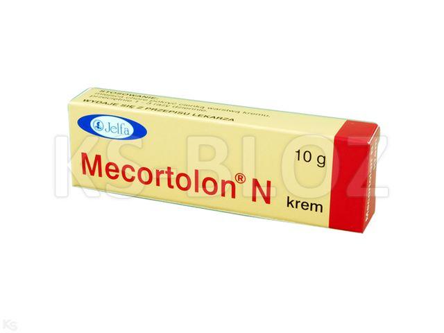 Mecortolon N interakcje ulotka krem (5mg+5mg)/g 10 g