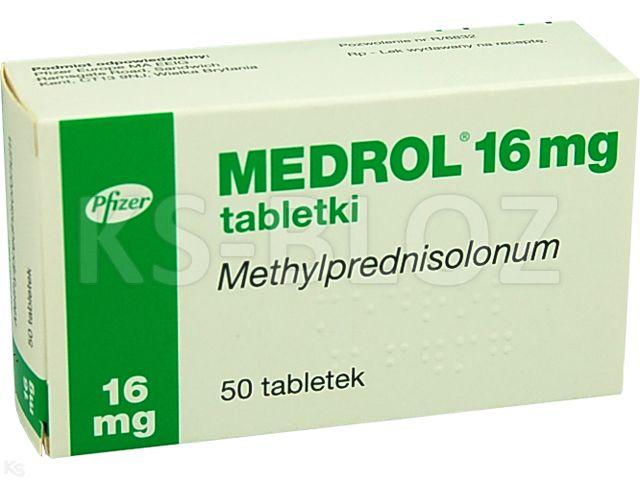 Medrol interakcje ulotka tabletki 0,016 g 50 tabl. | blistry