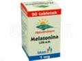 Melatonina LEK-AM interakcje ulotka tabletki 1 mg 90 tabl.
