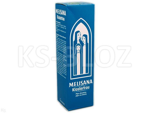 Melisana Klosterfrau interakcje ulotka płyn doustny, płyn na skórę  95 ml